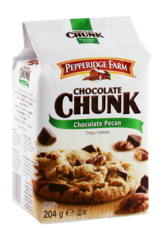 Crispy cookies chocolat noir et noix de pécan