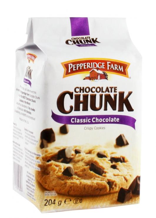 Crispy cookies  chocolat noir