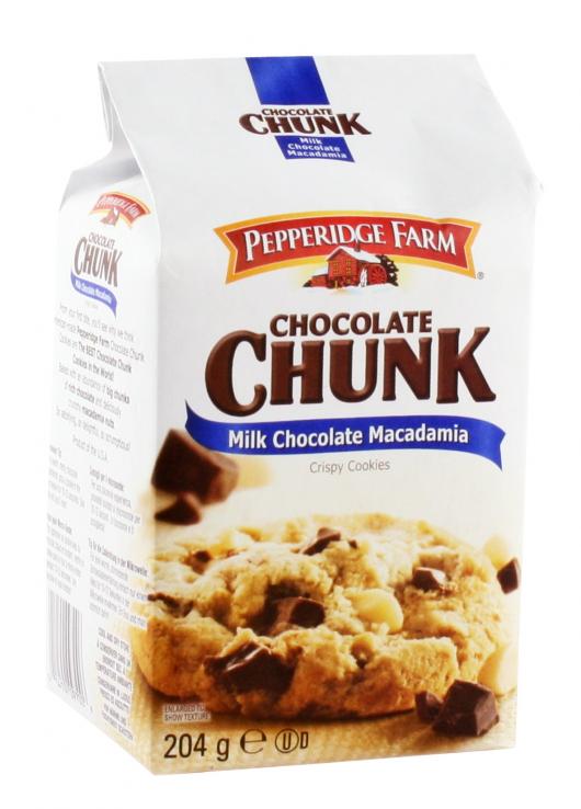 Crispy Cookies chocolat au lait et noix de macadamia