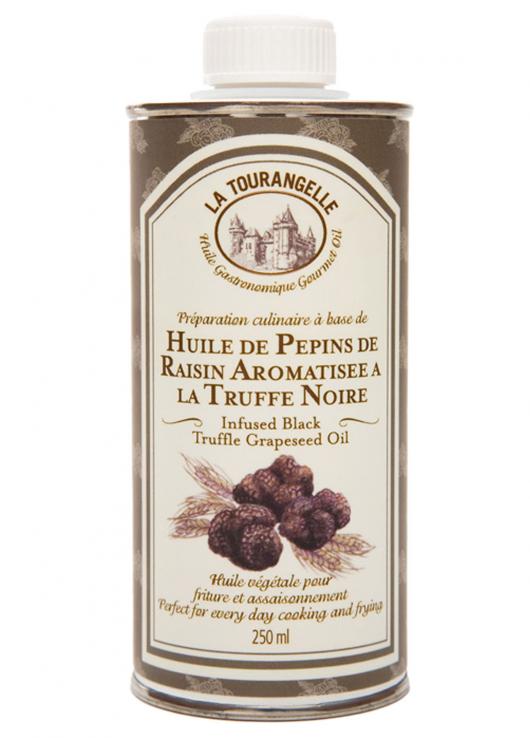 Huile pépins de raisin et truffe noire