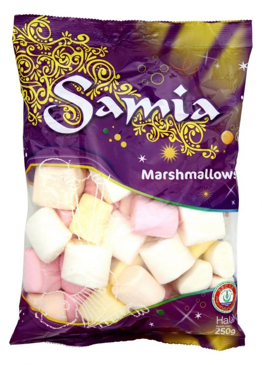 Bonbons marshmallow halal