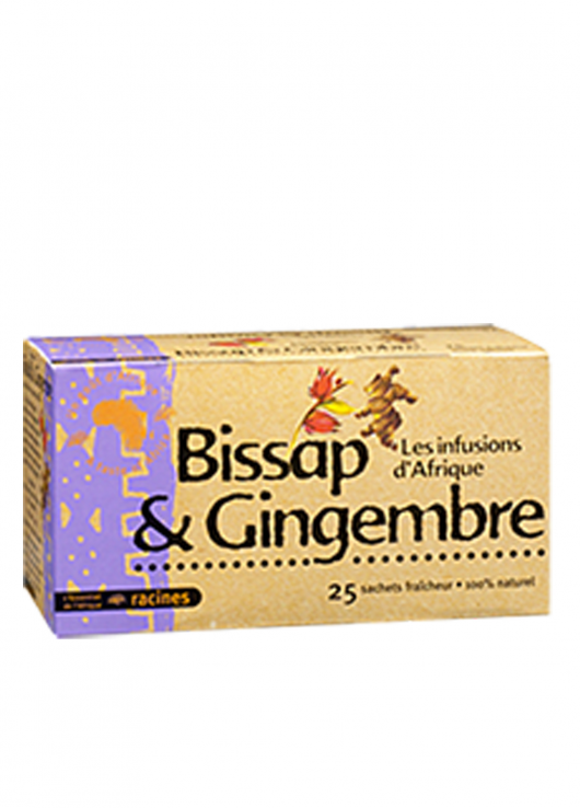 Infusion Bissap et Gingembre