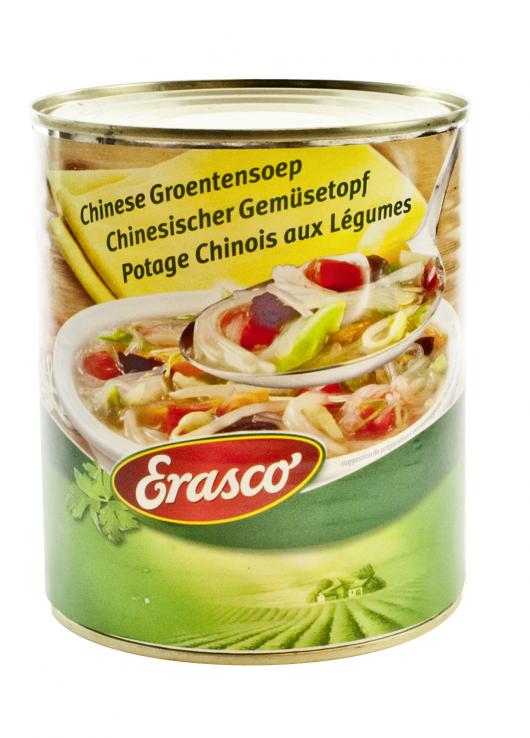 Potage Chinois aux Légumes
