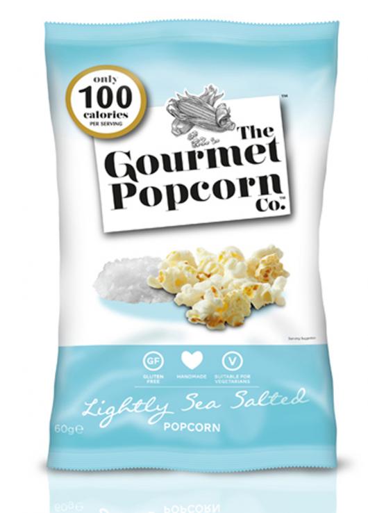 Popcorn légèrement salé au sel de mer