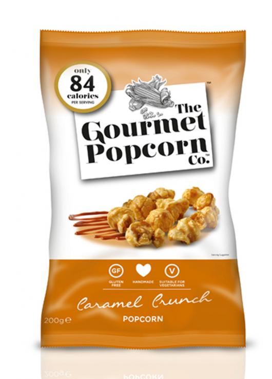 Popcorn au caramel croustillant