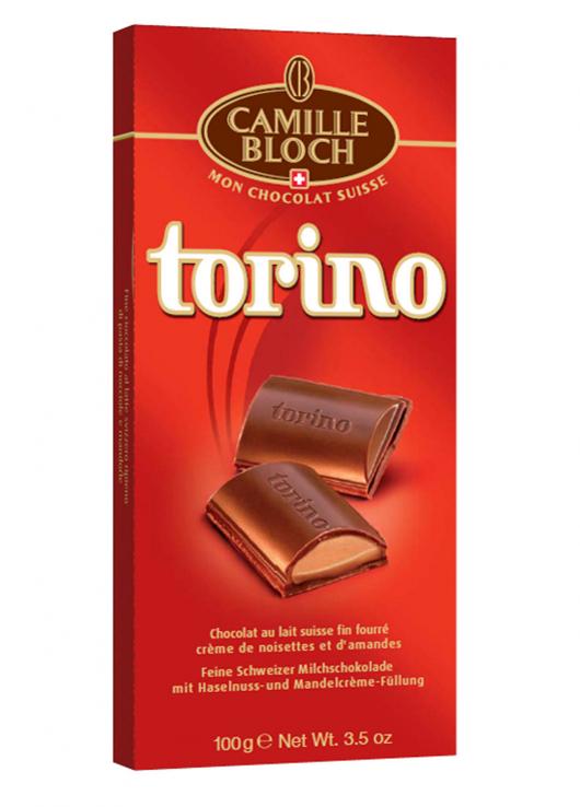 Chocolat au lait fin fourré crème noisettes et amandes