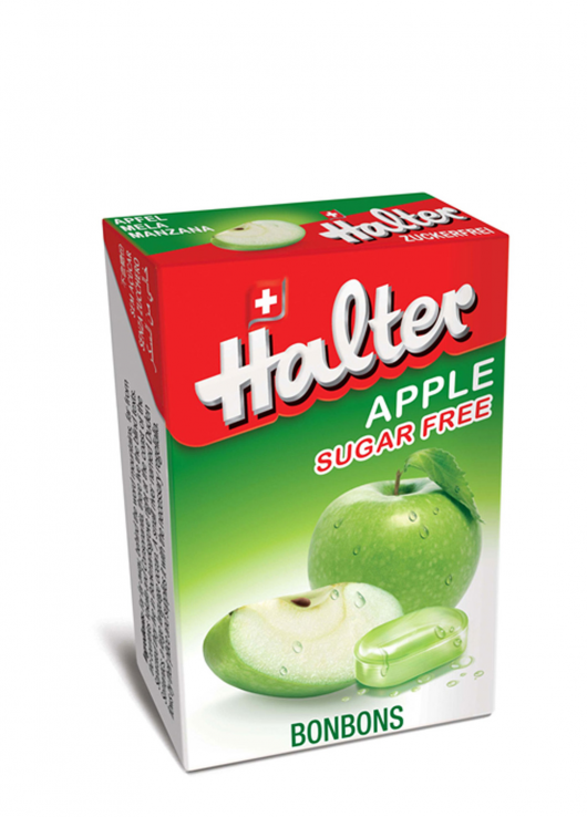 Bonbon sans sucre pomme