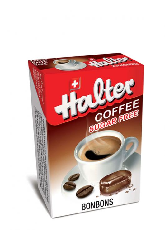 Bonbon sans sucre café