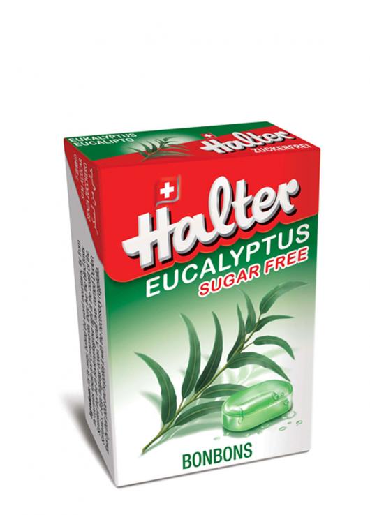 Bonbon sans sucre eucalyptus