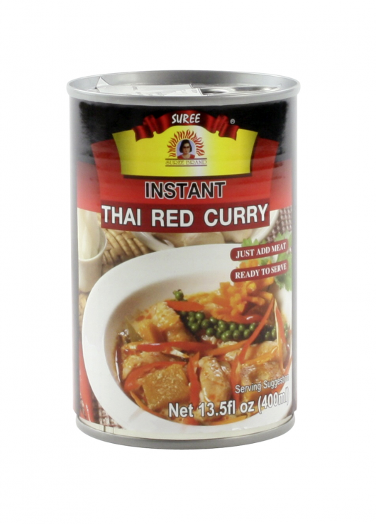 Sauce au curry rouge et lait de coco