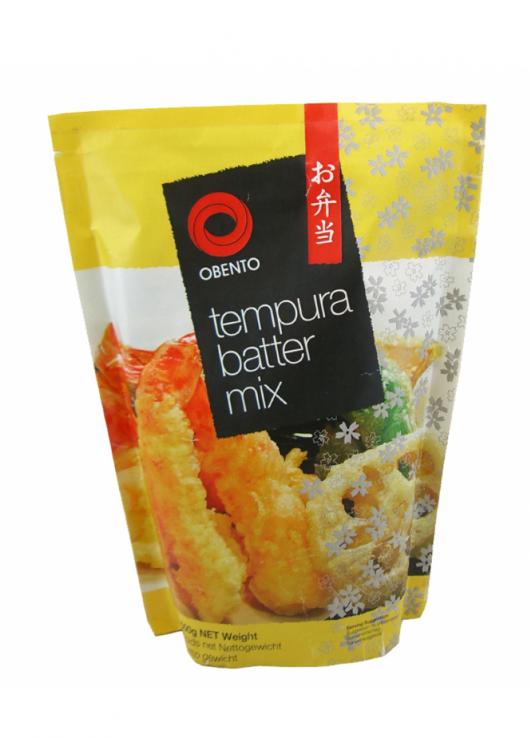 préparation pour tempura