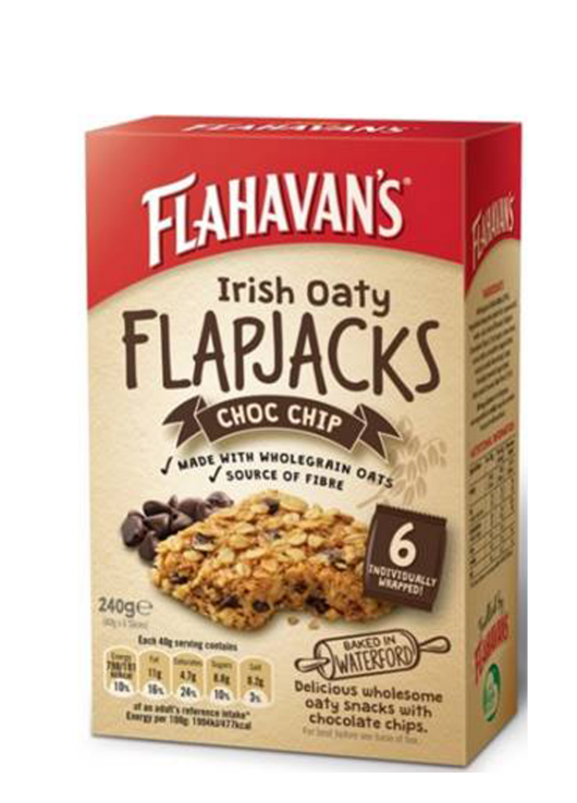 Irish Flapjacks – Choc Chip