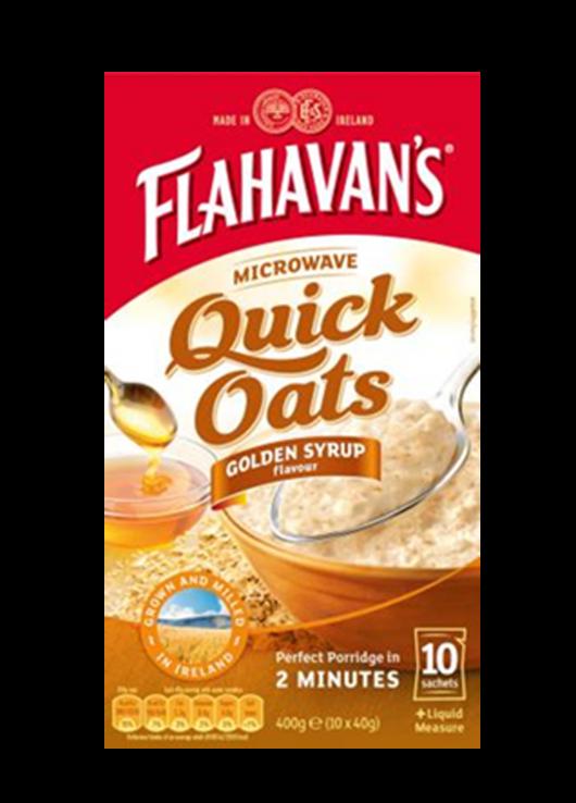 Sachets d'Avoine Quick – Golden Syrup