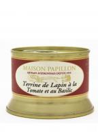Terrine de Lapin à la tomate et basilic
