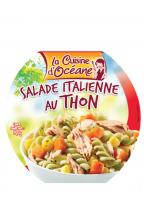 Salade italienne de pâtes au thon et légumes