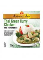 Poulet Curry Vert Au Riz Jasmin