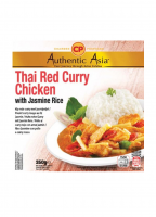 Poulet Curry Rouge Au Riz Jasmin