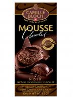 Chocolat noir fourré à la mousse de chocolat noir