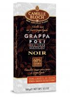 chocolat noir fourré Grappa liquide